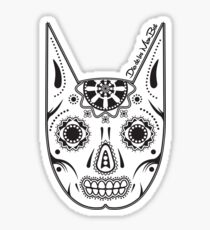 Dia de los ManBat - Hero sugar skull Sticker