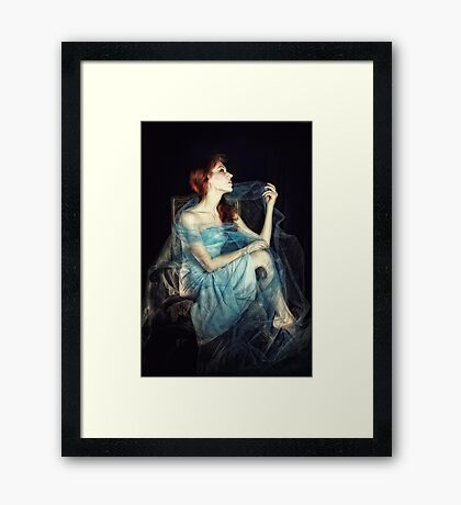 How the Moon Romances Framed Print