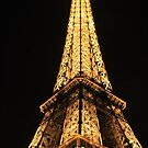 Eiffel Tower at Night by modernmana