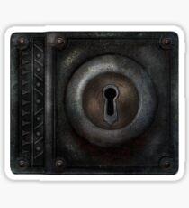 Lockpicker Sticker