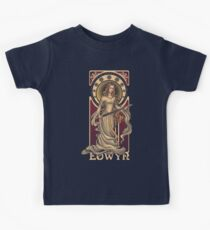Shieldmaiden of Rohan Kids Tee