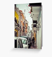 Old San Juan_5, Puerto Rico Greeting Card