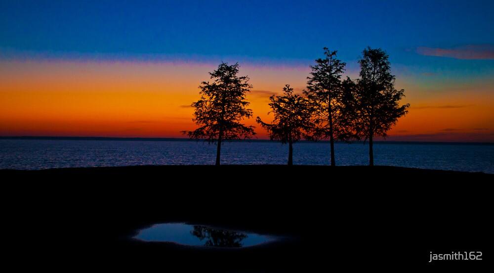 Lake Sunrise by jasmith162