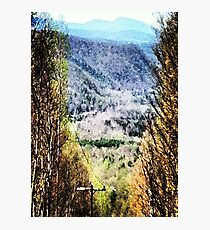 The Mountain's Valley View Photographic Print