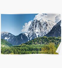 Mount Index and the Skykomish Valley Poster