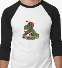 Rexterminate Men's Baseball ¾ T-Shirt