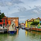 Burano Afternoon by Harry Oldmeadow