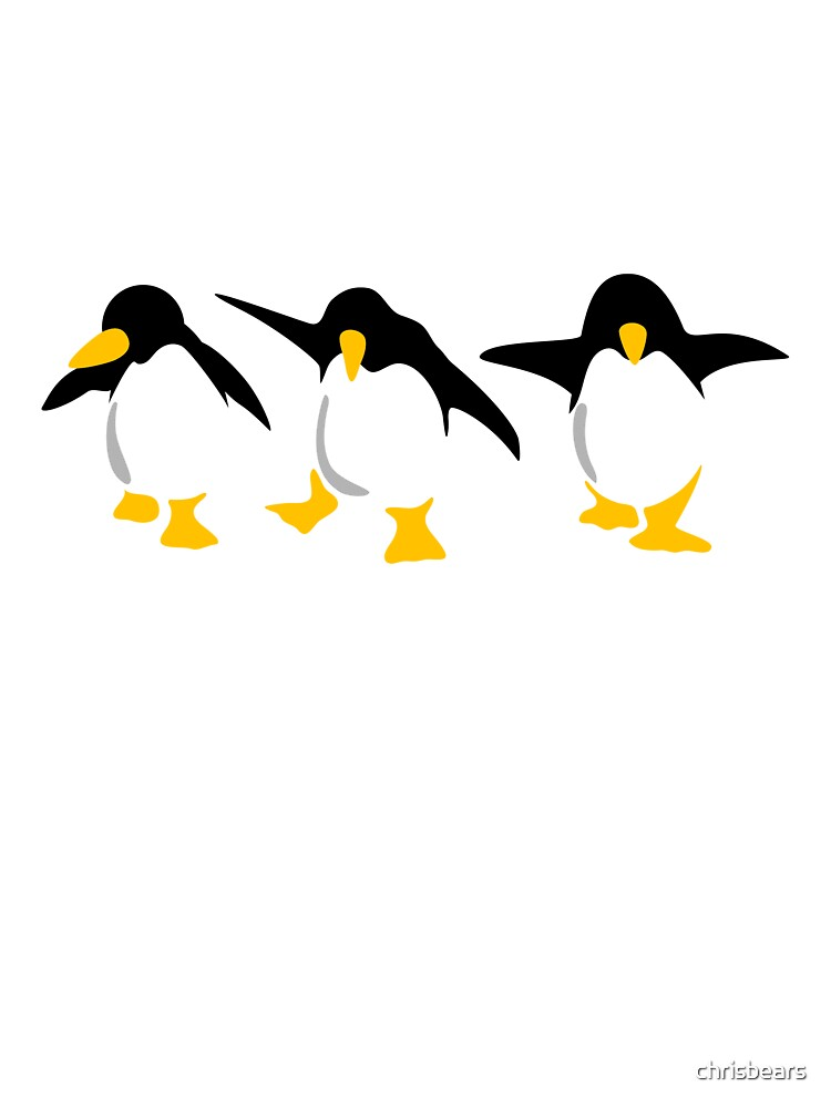 Three dancing Penguins by chrisbears