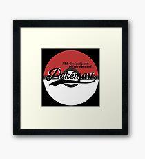 Pokemart retro logo Framed Print