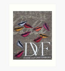 DVF Art Print