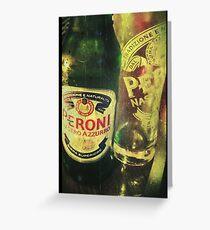 Peroni Love - Beer 1 Greeting Card