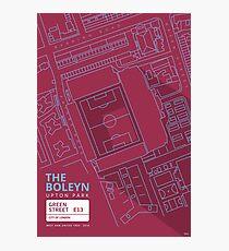 The Boleyn Ground - West Ham Utd Photographic Print