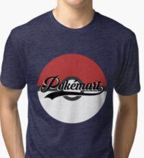 Pokemart retro logo Tri-blend T-Shirt