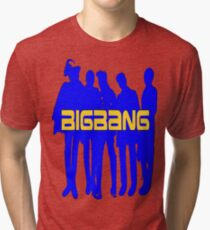 ㋡♥♫Love BigBang K-Pop Clothing & Stickers♪♥㋡ Tri-blend T-Shirt