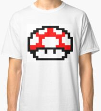 Mario Mushroom Classic T-Shirt
