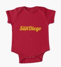 Stay Classy San Diego Kurzärmeliger Einteiler