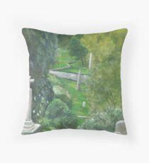 Mt Auburn Throw Pillow