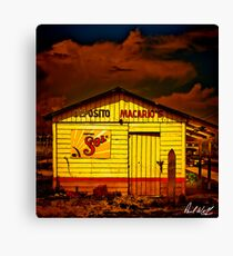 Beer Shack in Tampico Canvas Print