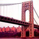 George Washington Bridge by Dennis Fehler
