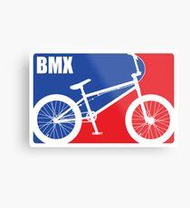 BMX Metal Print