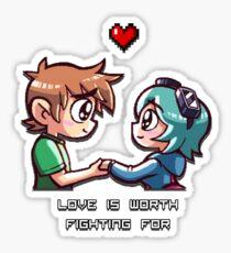 Love Worth Fighting For Sticker