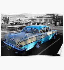 1958 Chevy Sedan Poster