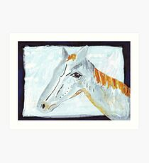 The Horse That Knew Art Print