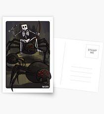 Spider Jockey Postcards
