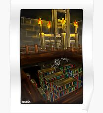 Stronghold Library Poster