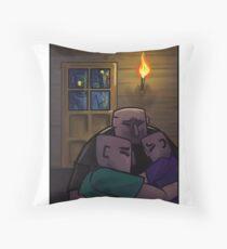 Zombie invasion Throw Pillow