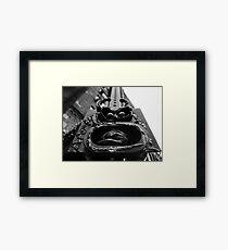 """""""Village Face""""- N.Y.C Framed Print"""