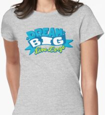 Dream Big Womens Fitted T-Shirt