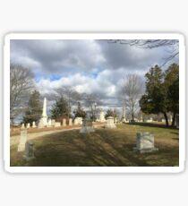 Tired Cemetery  Sticker