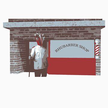 Rhubarber shop by joshbuckling