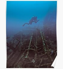WRECKAGE DIVER Poster