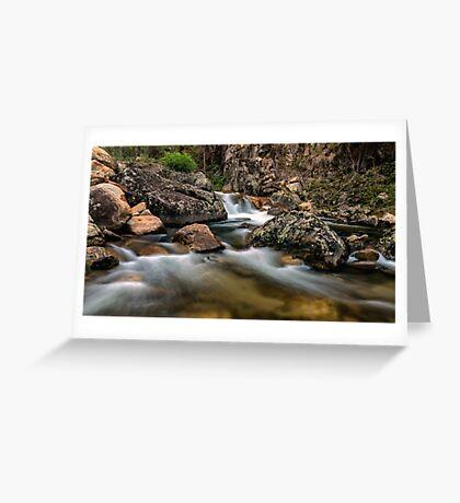 East Kiewa River Greeting Card