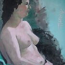 Nude Oil Study for Tiffany by Ray-d