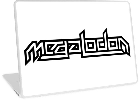Megalodon dubstep logo laptop skins by dicktree redbubble megalodon dubstep logo by dicktree altavistaventures Choice Image