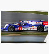 Toyota Racing No 8 Poster