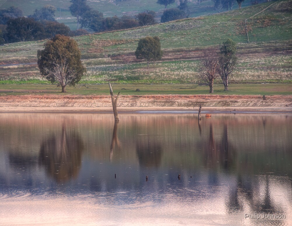 Watercolours - Lake Hume Victoria/NSW - The HDR Experience by Philip Johnson