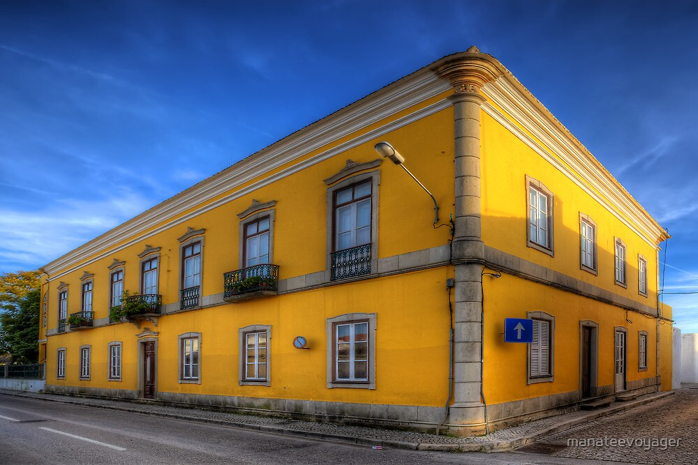 The Yellow House by manateevoyager