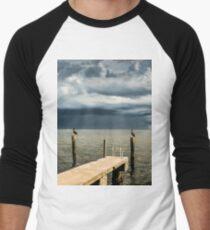 Pelican Pier St Petersburg Men's Baseball ¾ T-Shirt