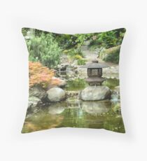 Gardens at the Huntington Library Throw Pillow