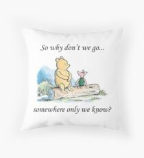 "Keane ""Somewhere Only We Know"" Throw Pillow"