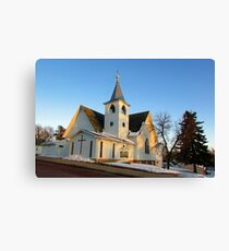 Baltic Lutheran Church Canvas Print