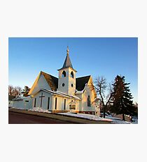 Baltic Lutheran Church Photographic Print