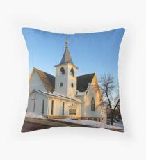 Baltic Lutheran Church Throw Pillow