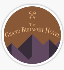 The Grand Budapest Hotel - Sticker Sticker
