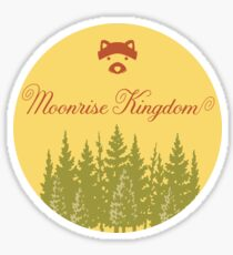 Moonrise Kingdom - Sticker Sticker