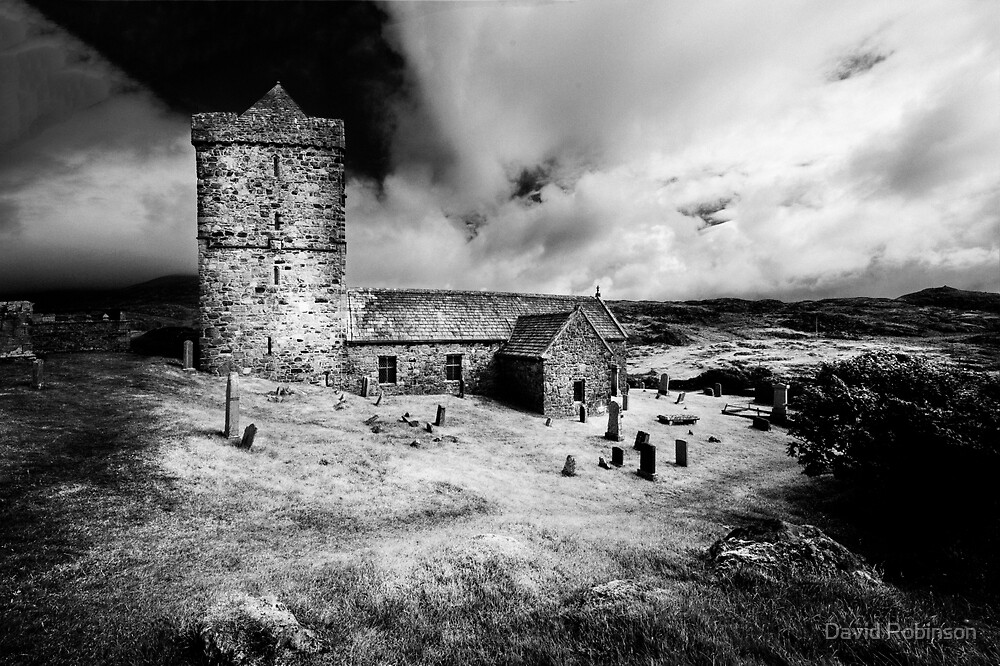 St Clement's Church (Isle of Harris) by David Robinson